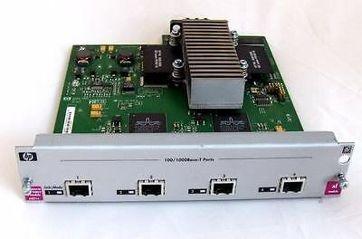 HP 5300XL J4821 Gigabit Module - full line rate with routing