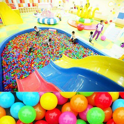 100pcs Multicolor Toy Ball Swimming Pool Ball Non-toxic For Children Play     BE