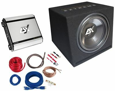 ESX hxp2 Subwoofer Final Stage Sound Package Bass System Vehicle Car