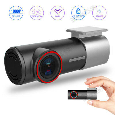 HD 1080P Car Camera DVR Video Dash cam Recorder Wifi G-Sensor Night Vision 128GB