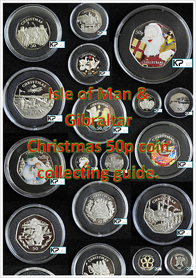 Isle of Man & Gibraltar Christmas 50p Guide INCLUDES Isle of Man TT 50p Guide