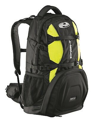Held Adventure EVO Black Neon Yellow Motorcycle Backpack with Rain Cover 28
