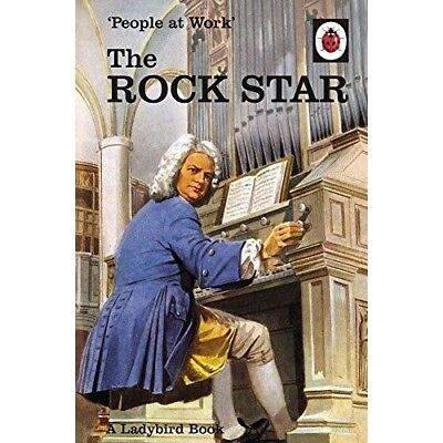 People at Work The Rock Star Ladybird NEW Hardback Book Grown Ups Adults Retro