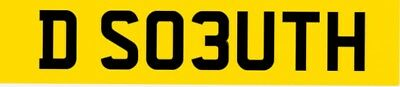 Private Plate Registration Spells  DSOUTH .cheap plate