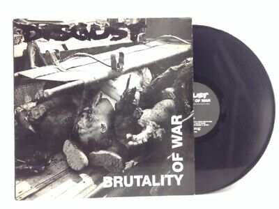 Disgust Brutality Of War Earache Records Importacion 2018574