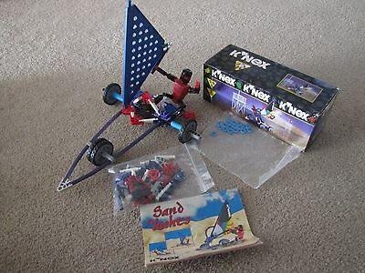 K'nex ref. 21025 Sand Surfer Sand Yachts 1998 99.9% complete boxed instructions
