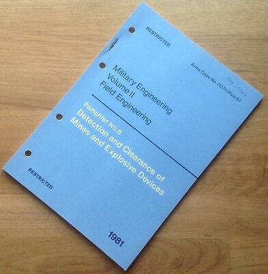 Original 1984 Amendments To British Mines & Explosive Devices Clearance Manual