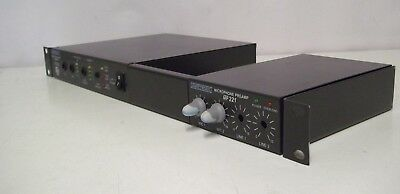 Ampetronic Ild122 Induction Hearing Loop Driver Mp221 Microphone Preamp