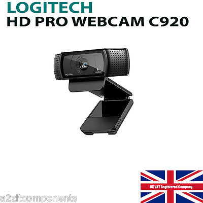 Logitech C920 USB HD Pro Webcam with Auto-Focus and Microphone*** BRAND NEW***