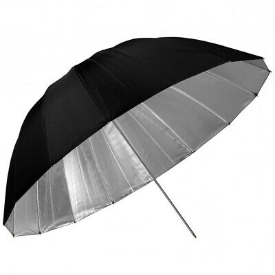 PHOTAREX Deep Parabolic Reflector Umbrella - black/silver - 102cm