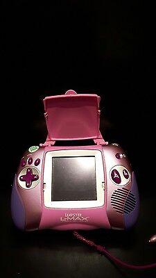 Leap Frog leapster L-MAX learning game Pink EXCELLENT CONDITION
