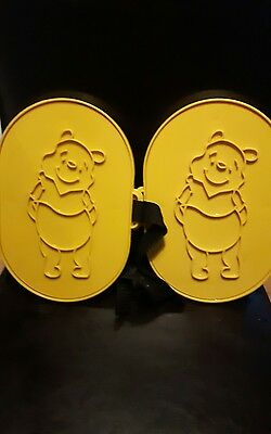 Rare winnie the pooh snow shoes toy mold velcro attachments