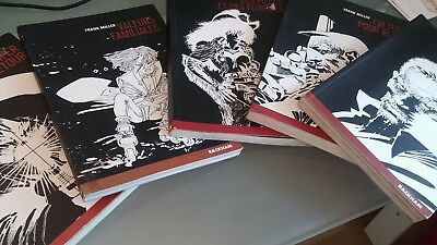 5 X Frank Miller Sin City Comic Graphic Novel In French