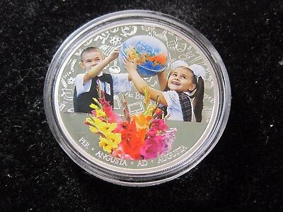2 $ 2011 Niue - The First of September (Day of Knowledge) - 1 oz Silver