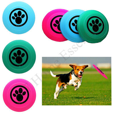 Soft Pet Flying Disc,Dog Frisbee Ideal for Dog Training and Fetch Games