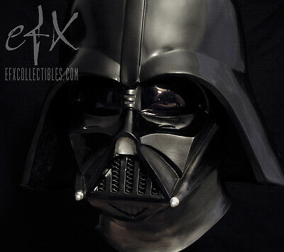 efx Darth Vader mask Helmet  Legend Edition 1/1  Star Wars not Master Replicas