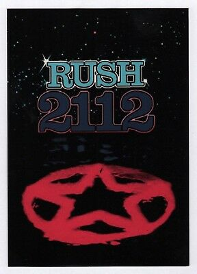 6x Rush 2112 - Postcard (Lot of 6 Postcards)