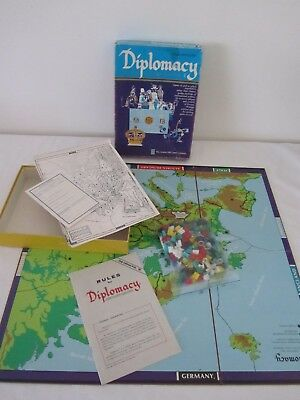 Vintage DIPLOMACY Avalon Hill Game COMPLETE