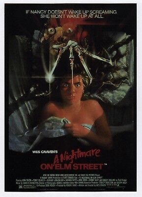 """6x Wes Craven's """"A Nightmare on Elm Street"""" - Postcard (Lot of 6 Postcards)"""