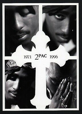 6x 2PAC Tupac 1971 - 1996 - Postcard (Lot of 6 Postcards)