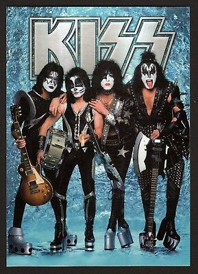 "6x KISS ""Chrome"" - Postcard (Lot of 6 Postcards)"