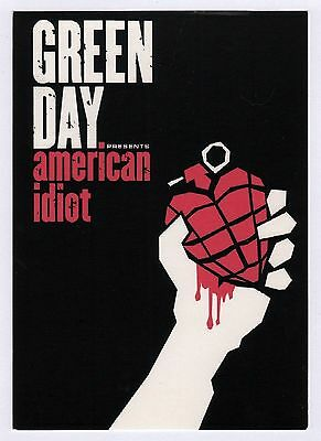 6x Green Day: American Idiot - Postcard (Lot of 6 Postcards)