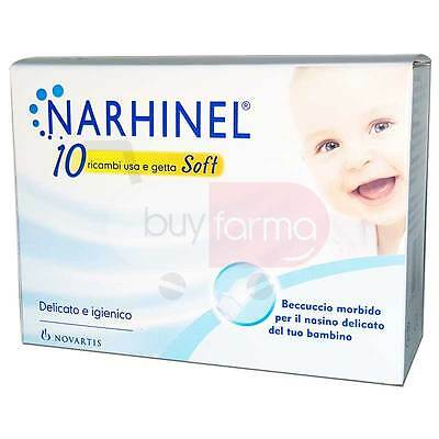 THE NARHINEL - 10 Spare parts SOFT for Vacuum cleaner - SPOUT Soft