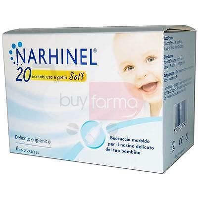 THE NARHINEL - 20 Spare parts SOFT for Vacuum cleaner - SPOUT Soft