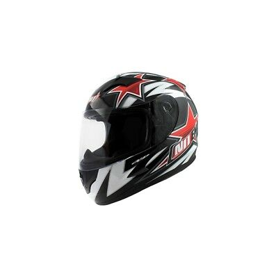 Casque Integral Enfant Noend Star Kid By Ocd Rouge Homologué Route