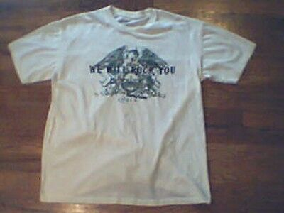 Queen We Will Rock You 2007 T-Shirt Size Women's Large Cotton