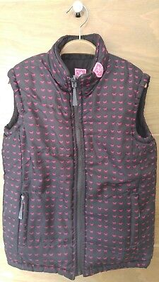Girls 'Tally' Sherwood Forest Reversible Gilet Size 28 (Approx 10 years)