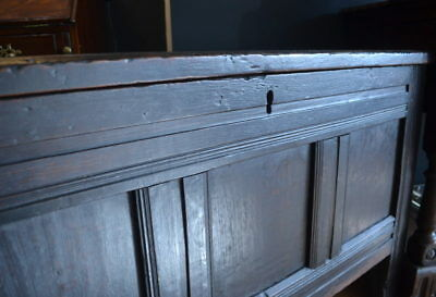 Original Cromwellian Coffer - c1650 - 1680