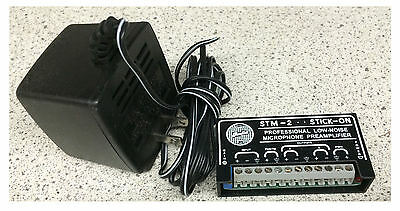 Radio Design STM-2 Professional Low-Noise Microphone Preamplifier