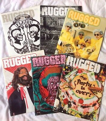 Lot Of 6 Issues Rugged Magazine 2008/20