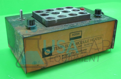 Scientific Products H2025 Temp-Blok Module Heater with 12-Well Block