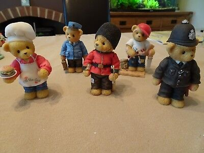 Cherished Teddies - A lot of 5 Figures