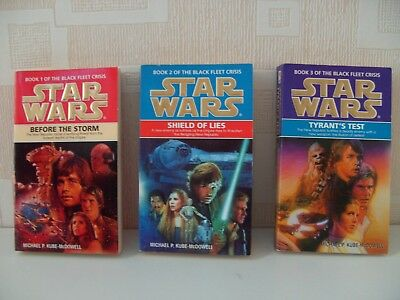 Star Wars novels - The Black Fleet Crisis Trilogy