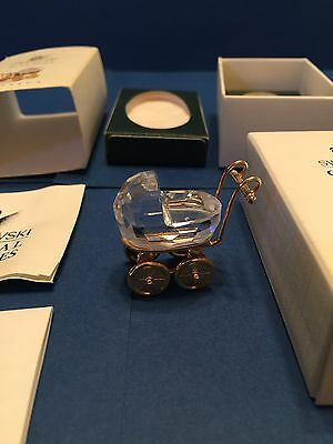 Swarovski Crystal Moments *** BABY CARRIAGE *** 9460000101 / 172301 Retired