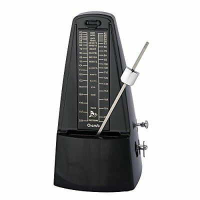 Cherub WSM-330 Classic Mechanical Metronome - Black