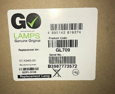 Go Lamps EC. K2400.001 Module for Acer P7200i Projector Lamp # 3.1