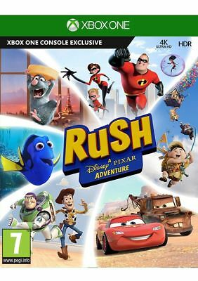 Rush: A Disney Pixar Adventure (Xbox One) NEW & SEALED Fast Dispatch Free UK P&P