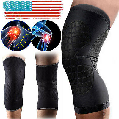 CFR Knee Brace Compression Sleeve Sports Support Pad Running Joint Pain Pair