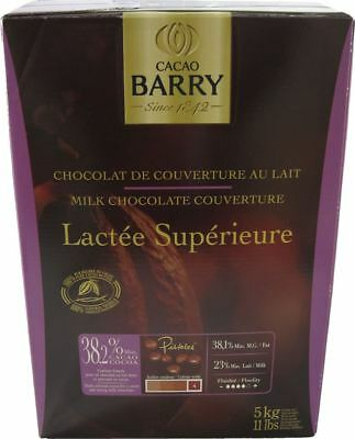 Cacao Barry Lactee Superieure Couverture 11 Lbs