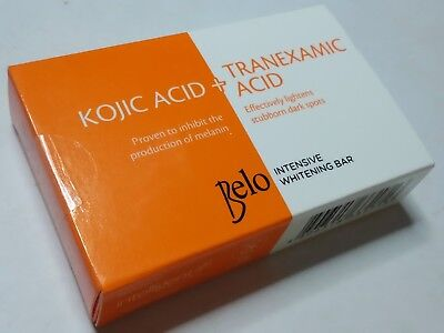Belo Intensive Whitening Bar Kojic Acid Tranexamic Acid Soap For Dark Spots 1, 2
