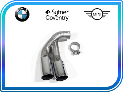 Genuine BMW M Performance Exhaust Tailpipe Trim Tip End Chrome F30 18302296889