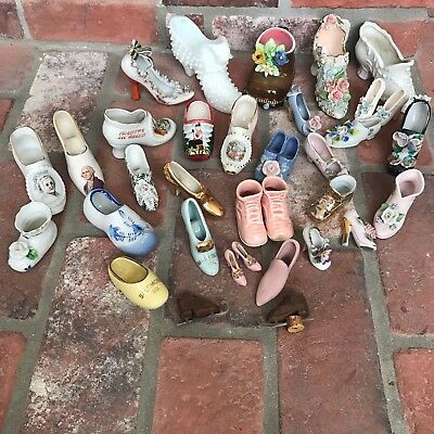 Vintage Miniature Shoes Lot Japan and More Lot of 30+