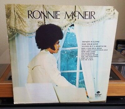 Ronnie McNeir Self Titled Vinyl LP 1975 Prodigal Kim Weston Motown Soul Northern