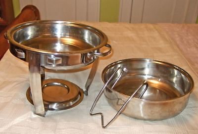 Gourmet Buffet~7 stainless steel pieces~exc.cond.