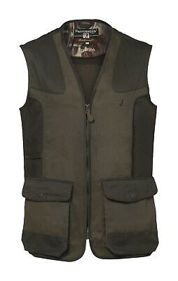 1215 Percussion Shooting Waistcoat Gilet Vest Hunting Reinforced Shoulder New