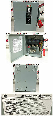 General Electric THN3361 Heavy Duty Safety Switch
